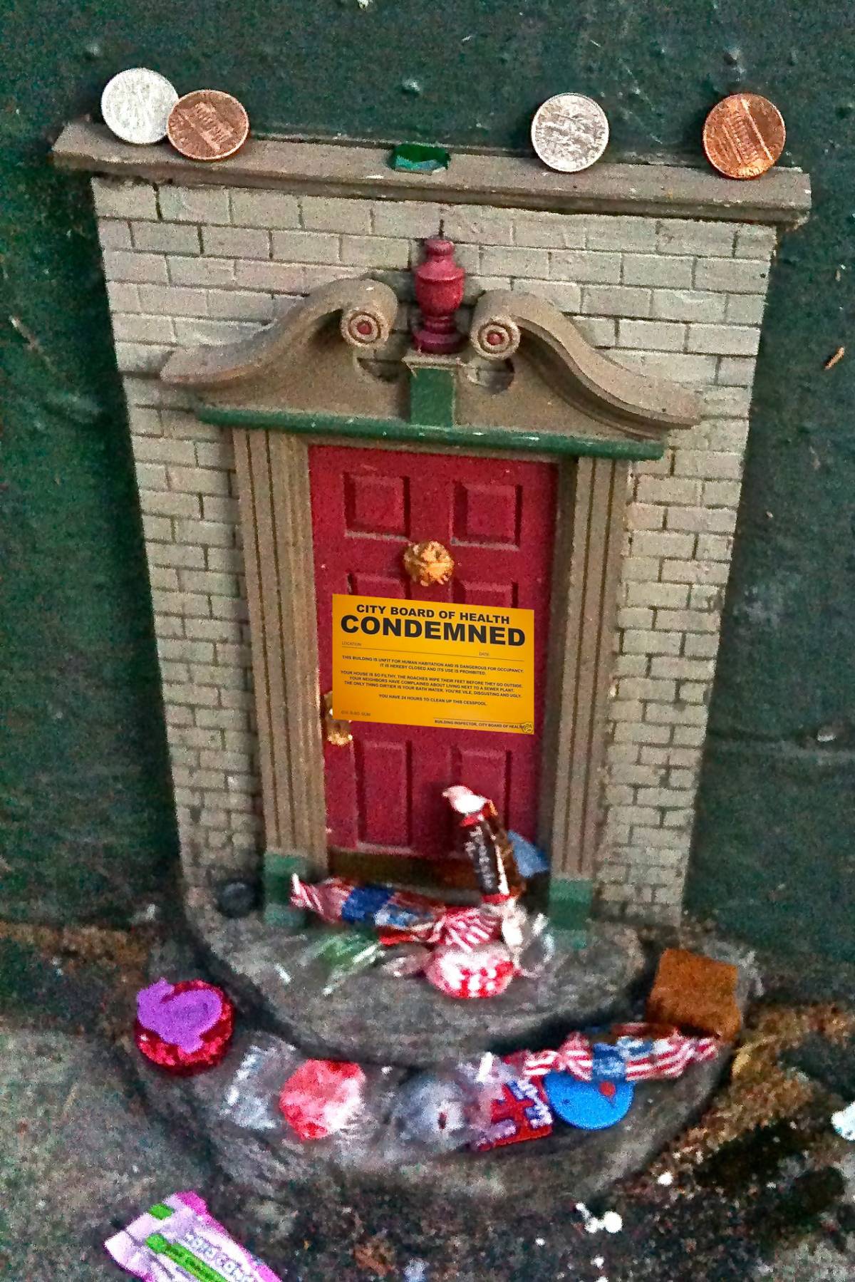 Fairy doors cited for ada non compliance the ann arbor for The works fairy door